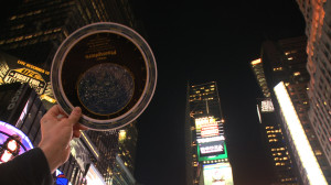 How many constellations can you see in Times Square?  Not too many...