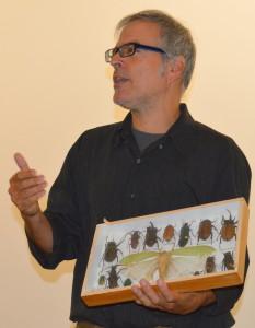 David Gracer making his case for entomophagy.
