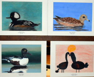 The competition drew artists from grades K - 12.
